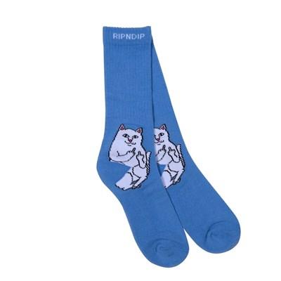 Носки Ripndip Lord Nermal Socks Baby Blue