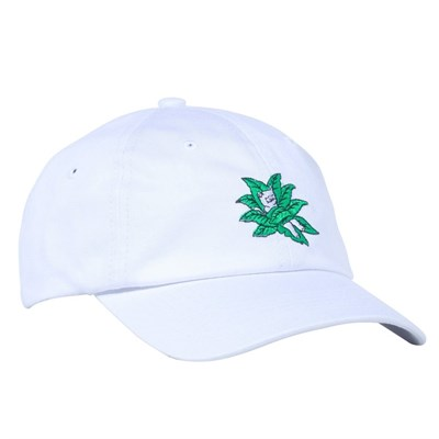Кепка Ripndip Tucked In Strapback White