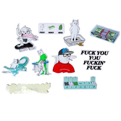 Стикеры Ripndip Summer 19 Sticker Pack