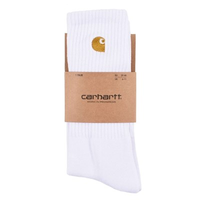 Carhartt Носки Chase Socks WHITE / GOLD