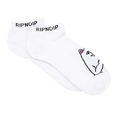 Носки Ripndip Lord Nermal Low Socks white