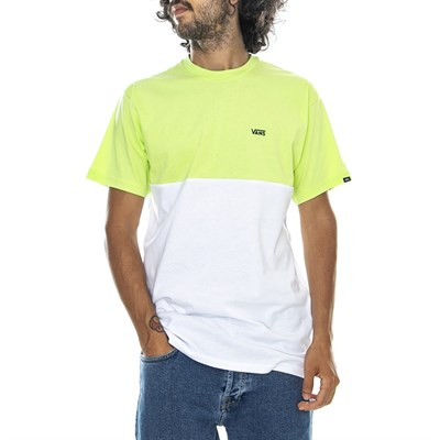 Vans футболка MN COLORBLOCK TEE  SHARP GREEN/