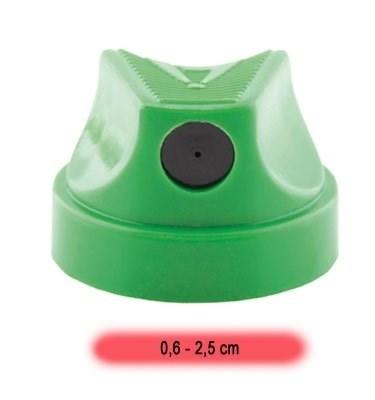cap Level 2 зеленый с черной вставкой 0,6-2,5см