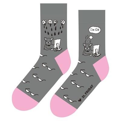 Носки St. Friday socks Невероятные приключения коллеги и его друзей