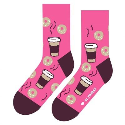 Носки St. Friday socks Пышки и кофе