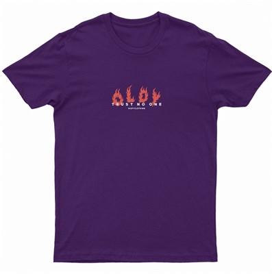Футболка Oldy Logo фиолетовый
