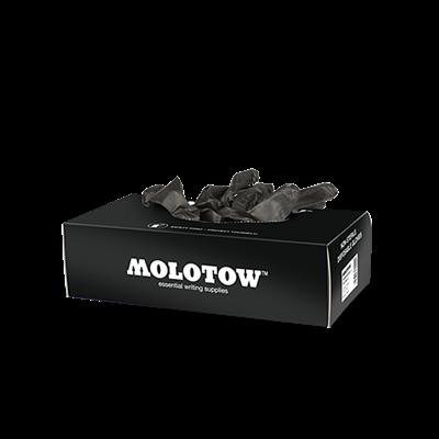 Перчатки резиновые черные (пара) Montana 226953 / Molotow 800415/416