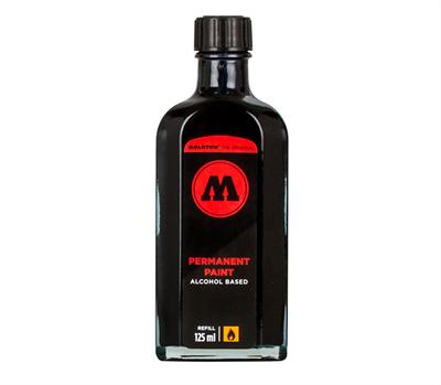 Molotow Заправка PERMANENT PAINT 862105 signal black 125 мл
