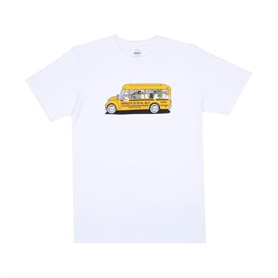 Футболка Ripndip School Bus Tee White