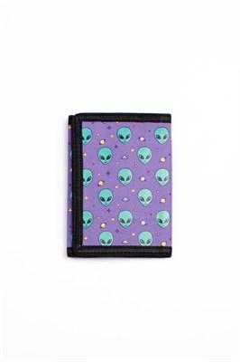 Кошелек SUPER STUFF Инопланетянин фиолетовый