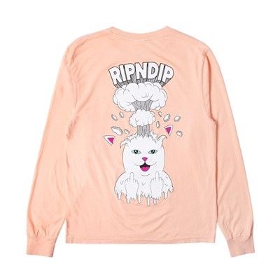 Лонгслив Ripndip Mind Blown LS Peach