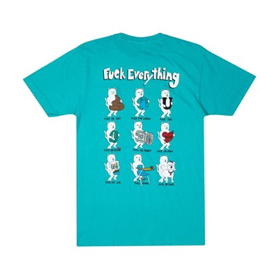 Футболка Ripndip Fuck Everything Tee Aqua