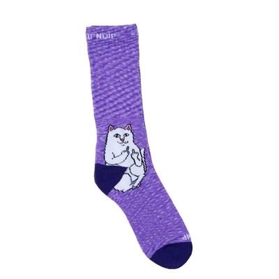 Носки Ripndip Lord Nermal Socks Purple Speckle