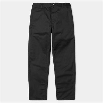 Carhartt WIP Брюки Simple Pant BLACK (RINSED).