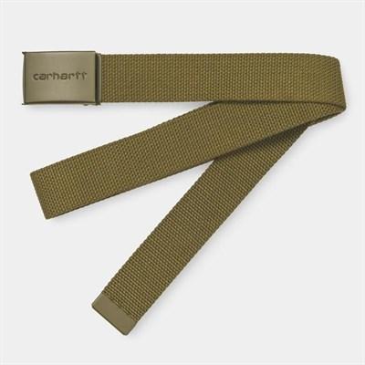 Carhartt WIP Ремень Clip Belt Tonal HAMILTON BROWN.