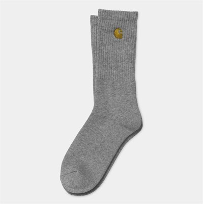 Carhartt WIP Носки Chase Socks GREY HEATHER / GOLD.