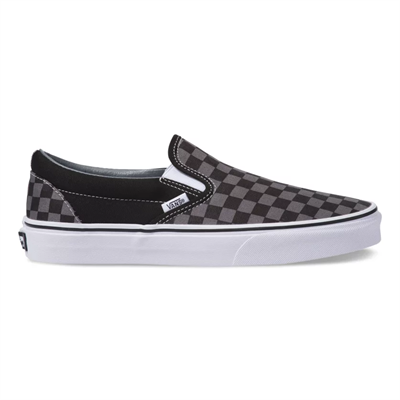 Кеды Vans UA CLASSIC SLIP-ON Black/Pewter Ch VEYEBPJ