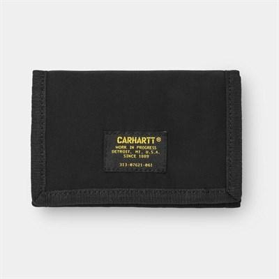 Carhartt WIP Бумажник Ashton Wallet BLACK