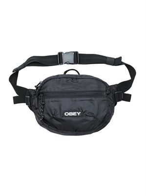 Obey Сумка поясная COMMUTER WAIST BAG BLACK