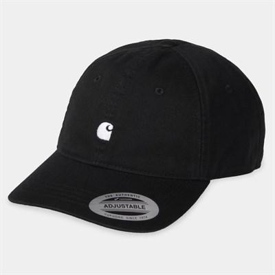 Carhartt WIP Кепка Madison Logo Cap BLACK / WAX