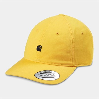 Carhartt WIP Кепка Madison Logo Cap SUNFLOWER / BLACK