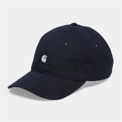Carhartt WIP Кепка Madison Logo Cap DARK NAVY / WAX