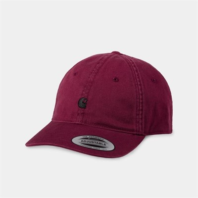 Carhartt WIP Кепка Madison Logo Cap SHIRAZ / BLACK