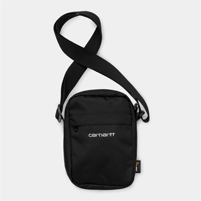Carhartt WIP Сумка маленькая Payton Shoulder Pouch BLACK / WHITE