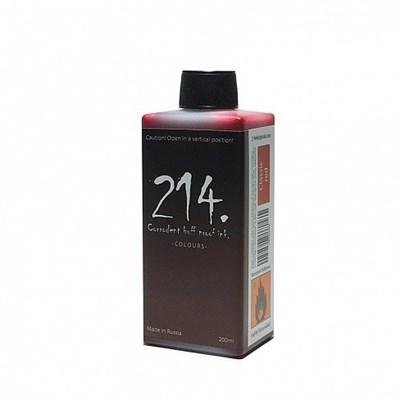 214 Ink заправка коричневая Chocolate brown 200мл