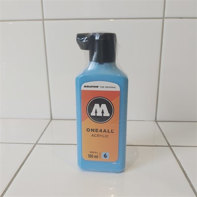 Molotow Заправка ONE4ALL Акриловая 692161 (161) голубой 180 мл
