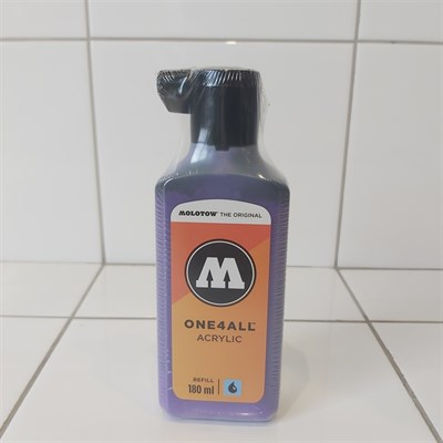 Molotow Заправка ONE4ALL Акриловая 692043 (043) темно-фиолетовый 180 мл