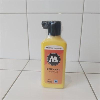 Molotow Заправка ONE4ALL Акриловая 692006 (006) желтый 180 мл