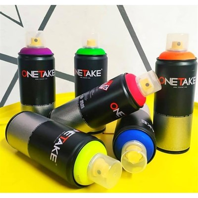 One Take 2000-6 fluorescent orange 400 мл