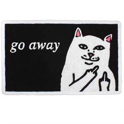 Коврик Ripndip Go Away Rug black