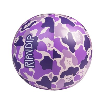Надувной мяч Ripndip Beach Bum Beach Ball Purple Camo