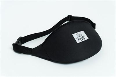 Travel поясная сумка logo black