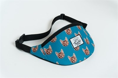 Travel поясная сумка cat blue