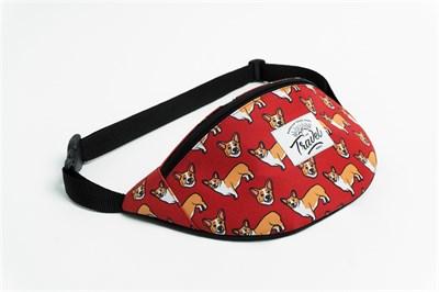 Travel поясная сумка korgi red
