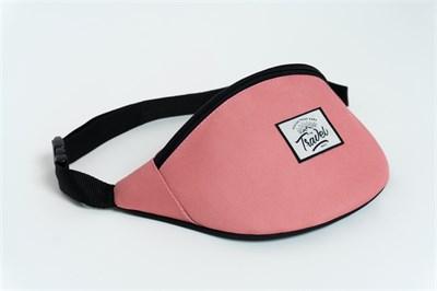 Travel поясная сумка cream pink