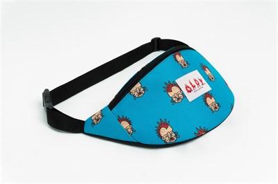 Oldy поясная сумка punk kid blue