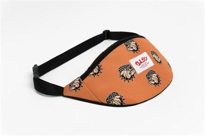 Oldy поясная сумка pitbull checkers cap orange