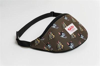 Oldy поясная сумка mask hania dragon khaki
