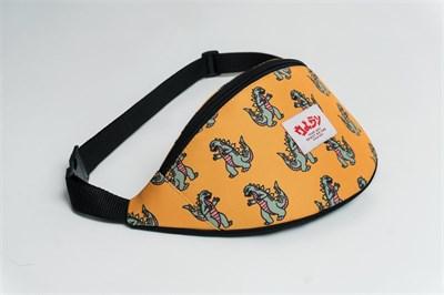 Oldy поясная сумка dinozavr yellow