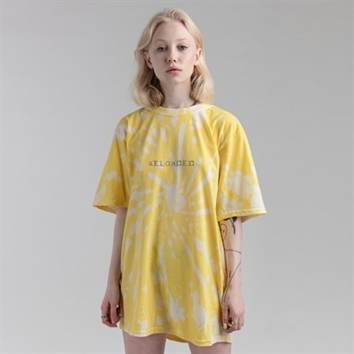 Футболка СЕВЕР tie-dye RELOADED желтая