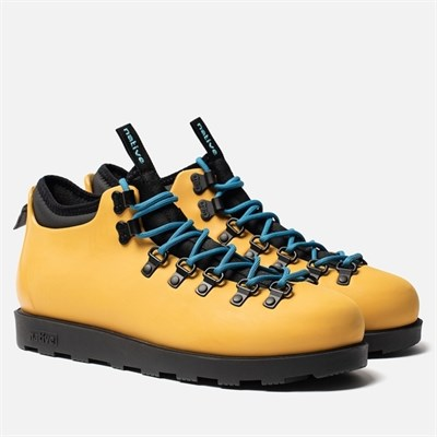 Ботинки Native ALPINE YELLOW/ JIFFY BLACK