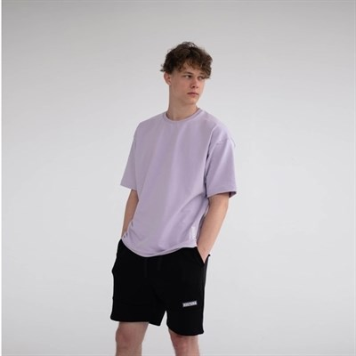Футболка КУЛЬТУРА OverSize, светло пурпурный