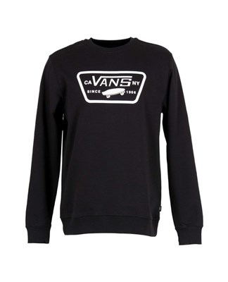 VANS Толстовка MN FULL PATCH CREW Black