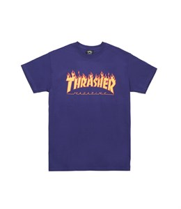 Thrasher Футболка FLAME S/S PURPLE M