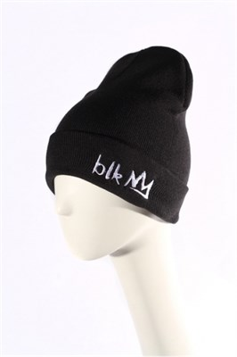 Blk Crown Шапка Broken logo (black)