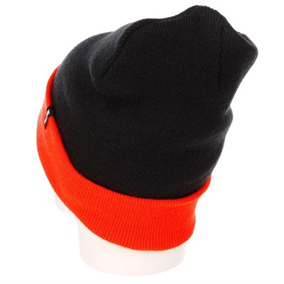 Шапка TRUESPIN Neon 2 Tone Roll Up (Черный (Black-Orange))